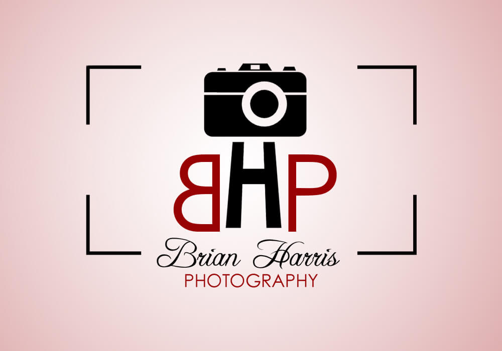 Brian Harris Photography Logo Design by Dharmishi Technologies